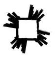 grunge banner frame vector image vector image