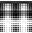 halftone dots pattern vector image vector image