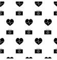 medicine pattern vector image vector image