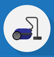 of technology symbol on vacuum vector image vector image