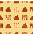 Poo colors seamless pattern vector image