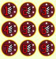 emblem badge design vector image