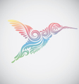 Hummingbird Ornamental vector image