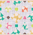 design cloth with geometric shapes vector image vector image