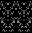 hatch seamless pattern dark abstract background vector image vector image