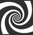hypnotic spiral background vector image