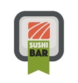 Logo design for restaurants of Japanese food vector image vector image