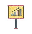 training paper board isolated icon vector image