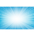 abstract smooth light blue perspective background vector image