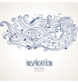 girl inspiration vector image