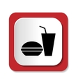 icons Fast Food vector image