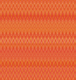 Pattern of the rhombus elements abstract orange vector image vector image