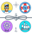safe and wheel collection vector image