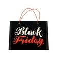 Sale Black Friday Bag for shopping vector image vector image