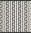 seamless pattern with vertical lines wavy stripes vector image vector image