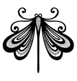 Beautiful Dragonfly Exotic Insect vector image