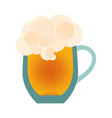 beer glass icon isolated on white background vector image vector image