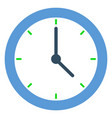 clock time management minimalistic watch deadline vector image