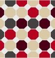 geometric polygon seamless pattern vector image