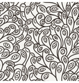 seamless pattern of organic elements vector image vector image