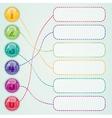 Web desigs elements vector image vector image
