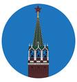 Kremlin tower vector image