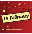 14 february day vector image