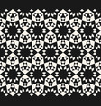 abstract geometric floral seamless pattern vector image