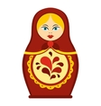 Matrioshka icon flat style vector image