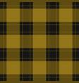 seamless black yellow tartan with yellow stripes vector image vector image