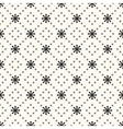 seamless pattern sun shape and dot vector image vector image