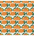 Seamless pattern with Mexican food vector image