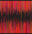 stripes on black background vector image vector image