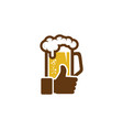 best beer logo icon design vector image