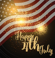 independence day background 1706 vector image vector image