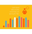 Social Media Infographic vector image vector image