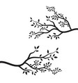 tree branch ilustration design vector image