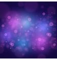 Bokeh Lights Background vector image vector image
