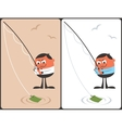 Businessman Fishing Concept vector image