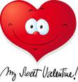 cute valentine heart - vector image