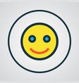 emoji colorful outline symbol premium quality vector image vector image