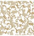 flora seamless pattern flourish tiled oriental vector image vector image