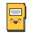 folder data document icon vector image vector image