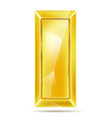 gold piece vector image