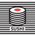 picture of sushi vector image