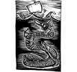 Sea Serpent vector image vector image