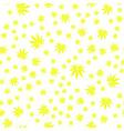 seamless texture marijuana four vector image