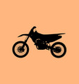 sport fast motocross bike model icon vector image vector image