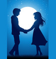 young lover vector image vector image