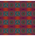 Abstract ornamental ethnic seamless pattern vector image vector image